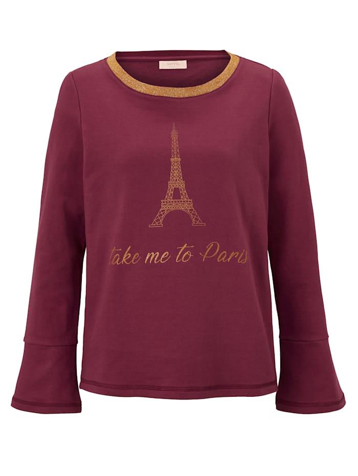 SIENNA Sweat-shirt, Rouille