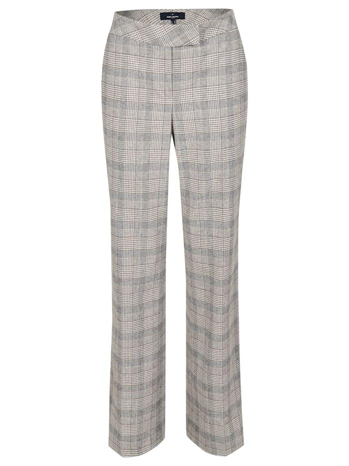 Daniel Hechter Trendige Hose mit moderner Fussweite, iron