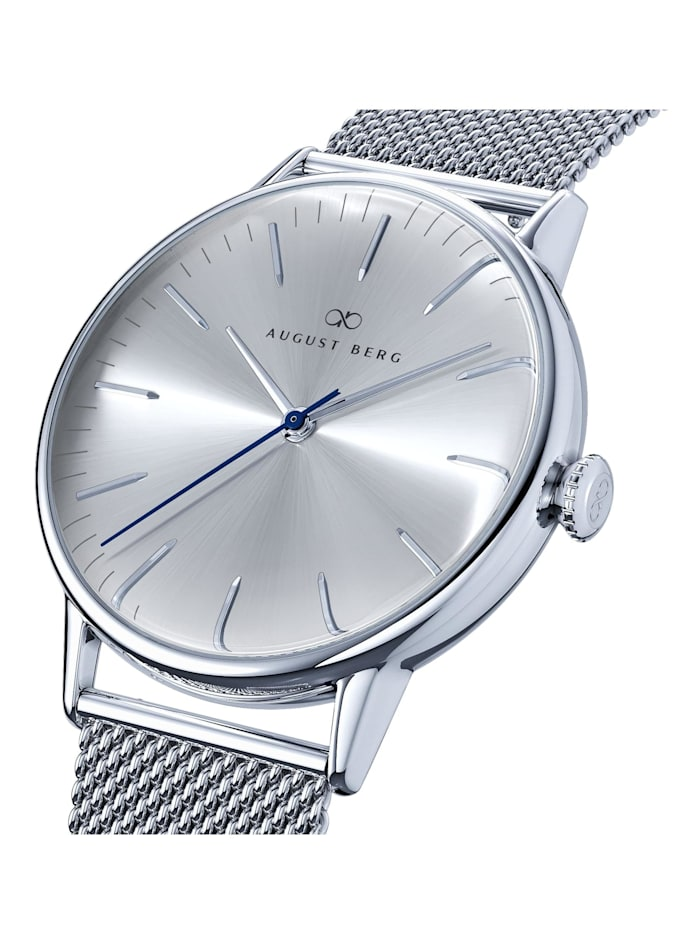 Uhr Serenity Simply Silver Silver Mesh 40mm