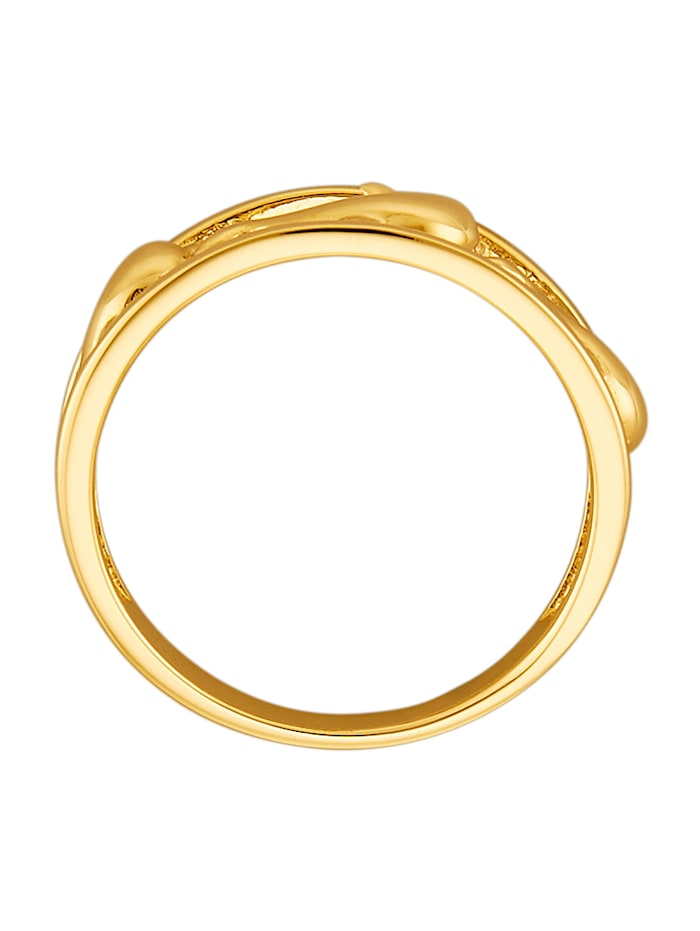 Delfin-Ring in Gelbgold 585