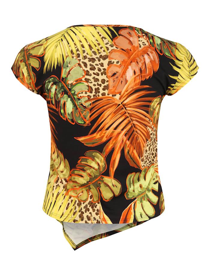 Shirt mit asymmetrischem Saum .