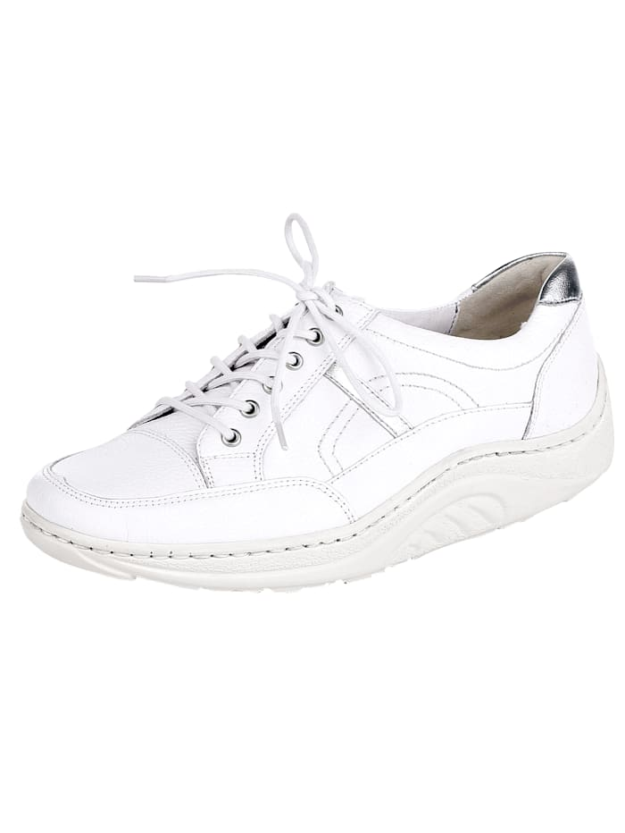 Waldläufer Lace-up shoes inbeautiful look, White