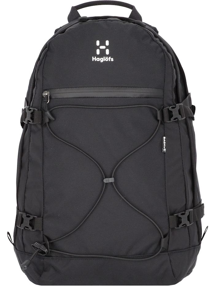 Haglöfs Backup 15 inch Rucksack 48 cm Laptopfach, true black