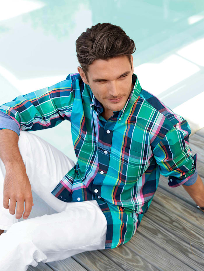 BABISTA Overhemd, Groen/Petrol