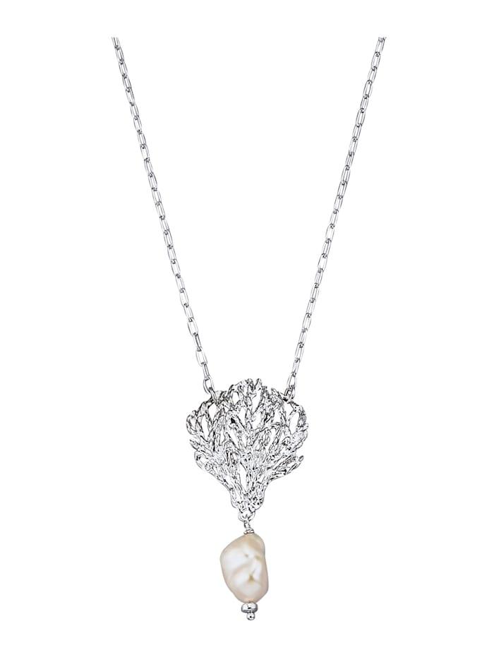 Diemer Trend Collier in Silber 925, Weiß