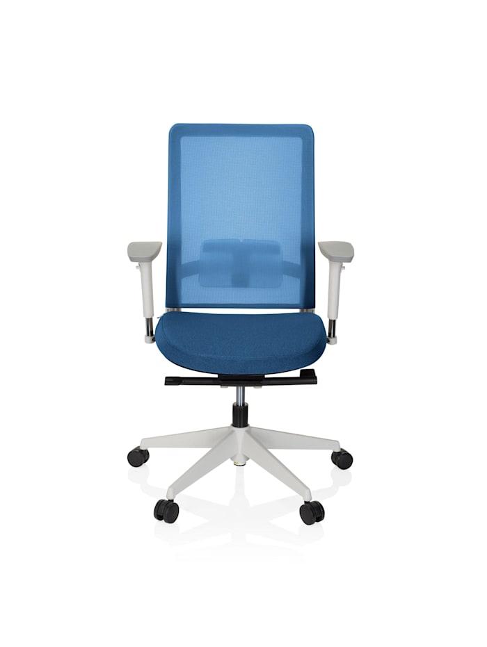 hjh OFFICE Profi Bürostuhl PURE WHITE, Blau