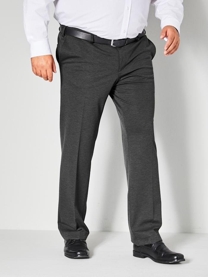 Men Plus Pantalon met speciale pasvorm, Antraciet