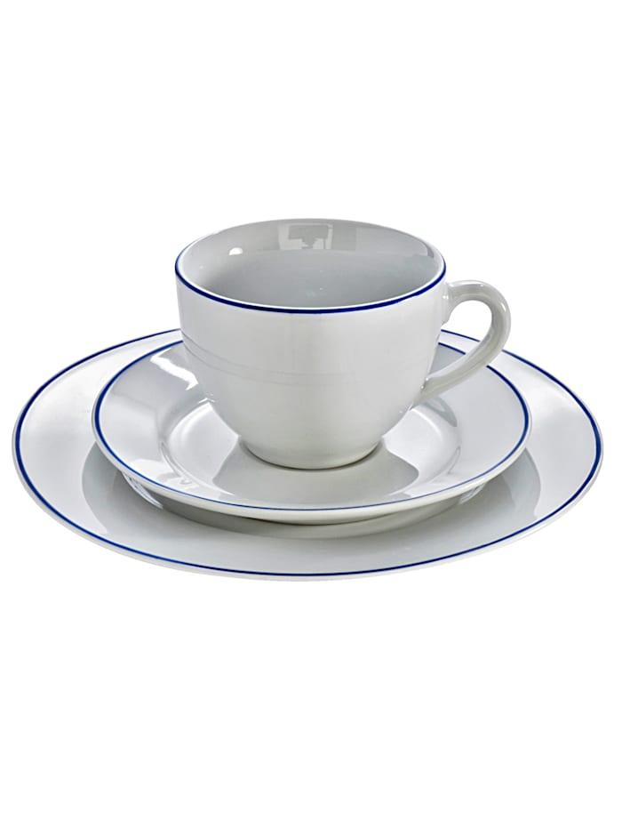 Arte Viva Service à café 18 pièces, Blanc