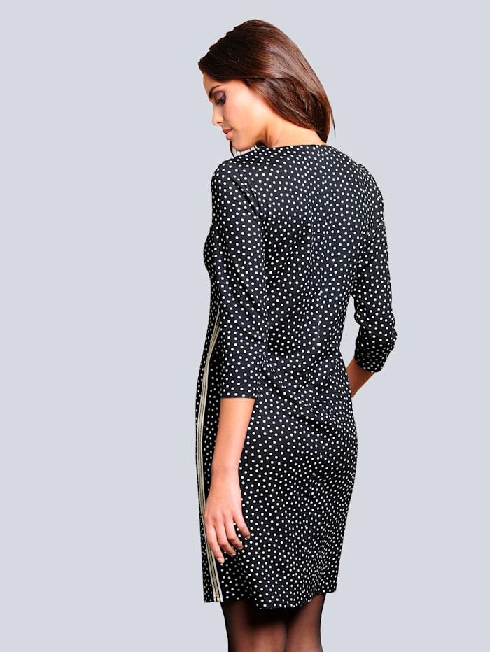Kleid in formstabiler elastischer Ware