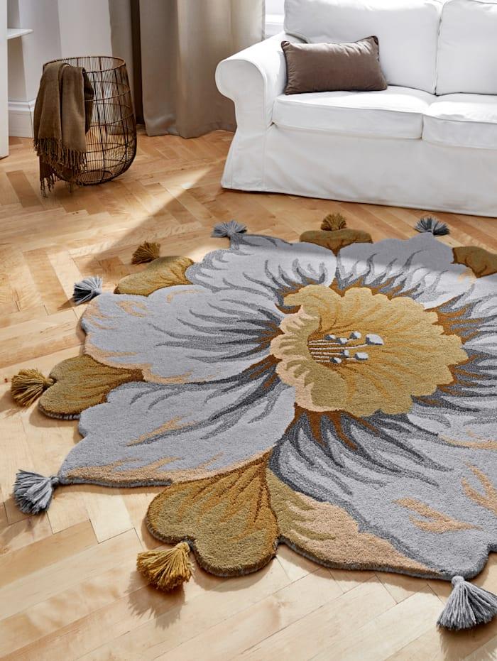 Handtuftteppich 'Maan'