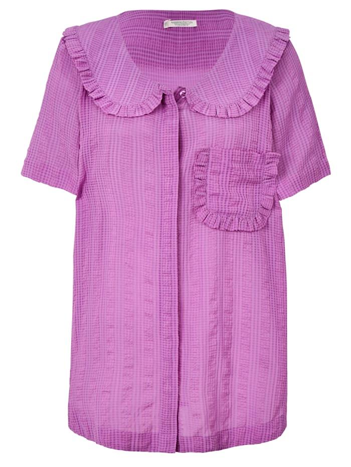 Underprotection Pyjamatop, Flieder