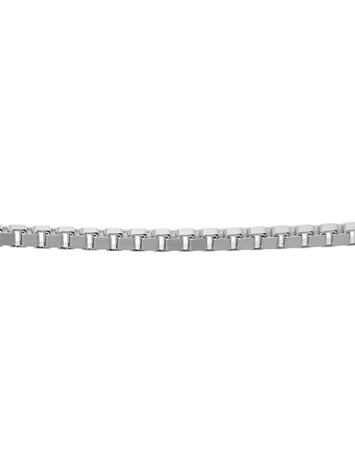 Damen-Halskette 333 Weißgold Venezianer Breite 0,9 mm