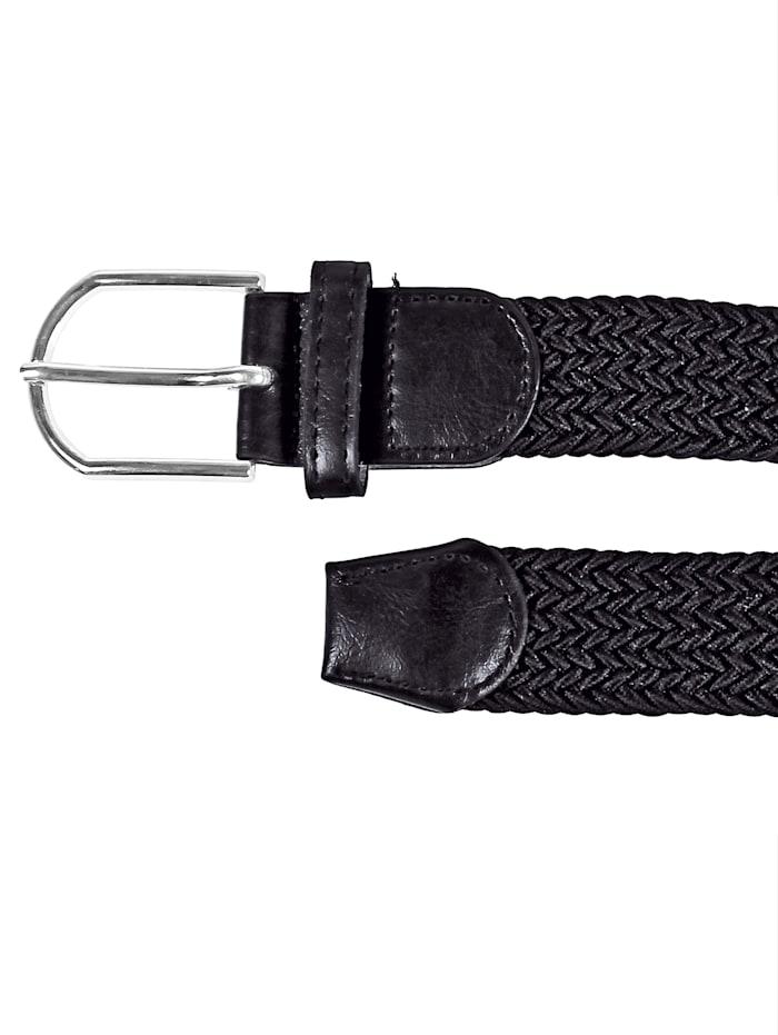 Wellys Elastischer Gürtel mit runder Schließe
