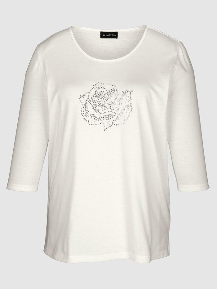 T-shirt avec rivets devant