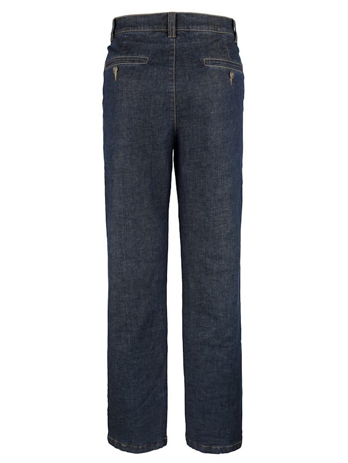 Termo džínsy s flanelovou podšívkou