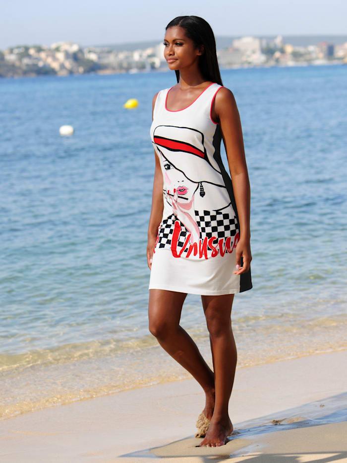 Strandkleid mit Frontdruck