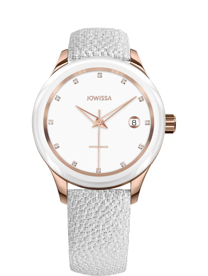 Jowissa Quarzuhr Tiro Swiss Ladies Watch, weiß
