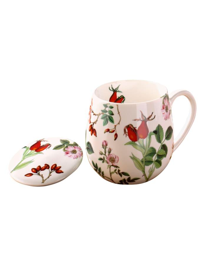 """Könitz Hrnek na čaj """"Šípky"""", vícebarevné"""