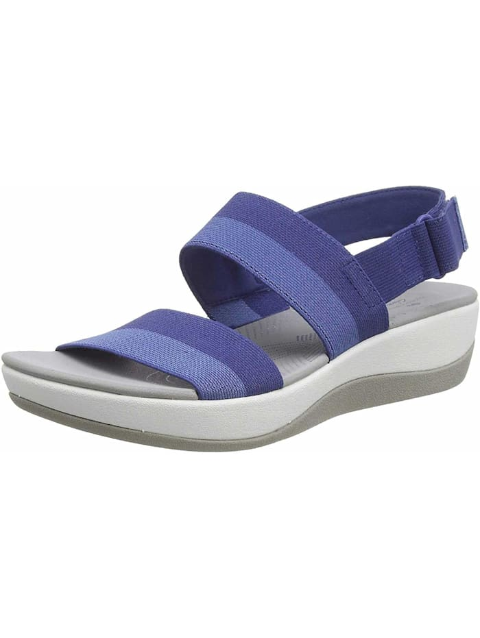 Clarks Sandalen/Sandaletten, blau