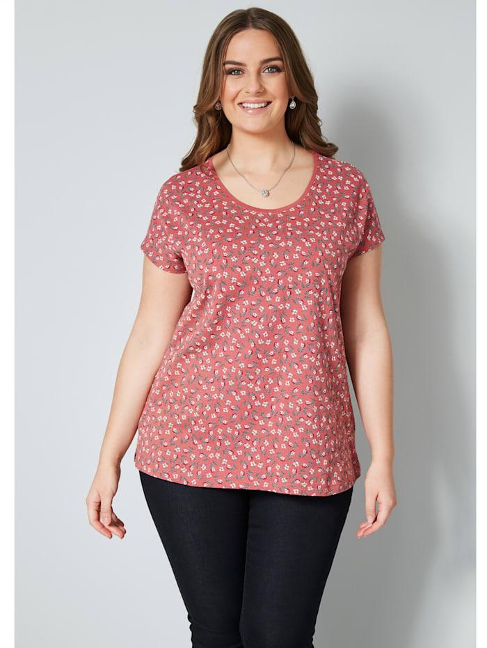 Shirt mit floralem Print
