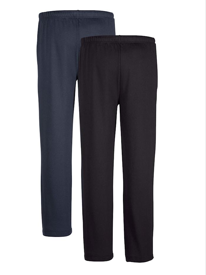 Lot de 2 pantalons de loisirs Taille entièrement extensible
