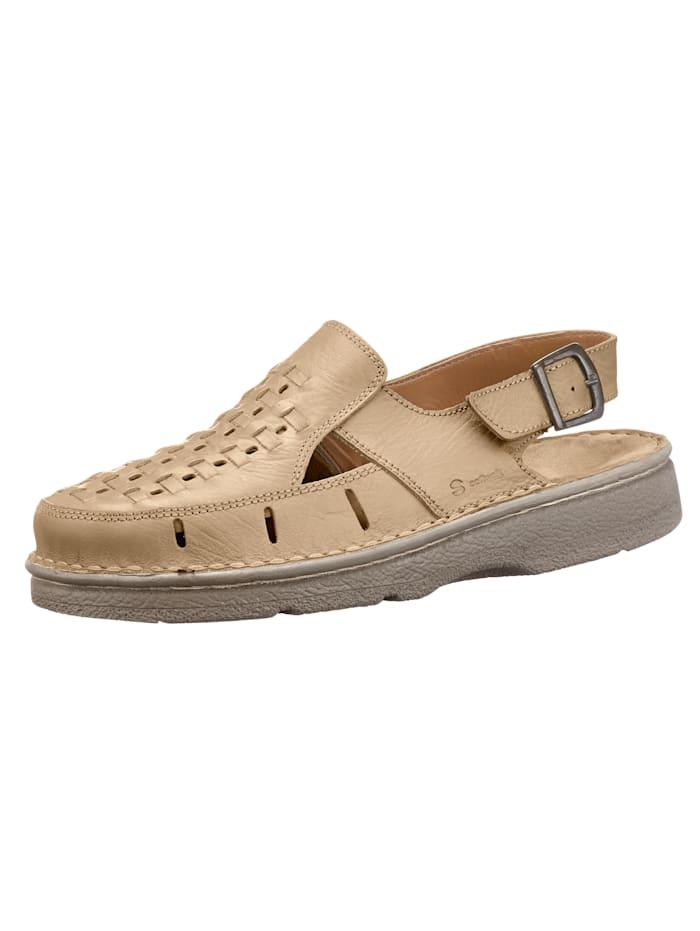 Sandale, Beige