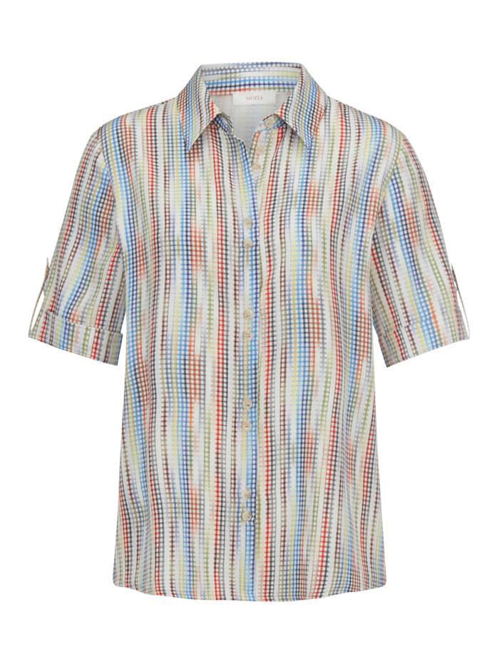 Bluse aus Jacquard-Gewebe