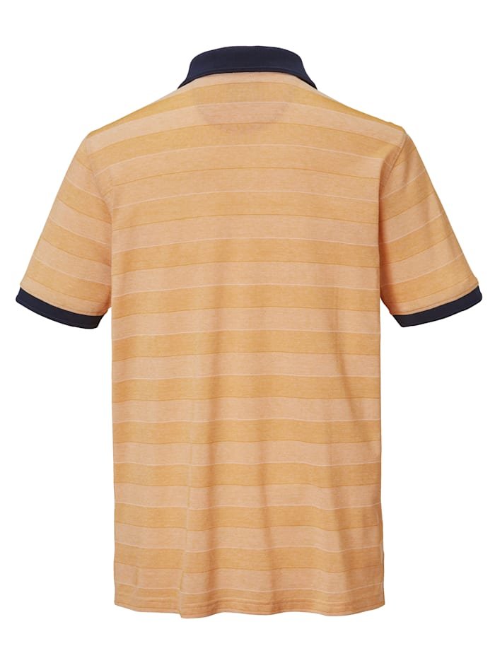 Poloshirt aus mercerisierter Baumwolle