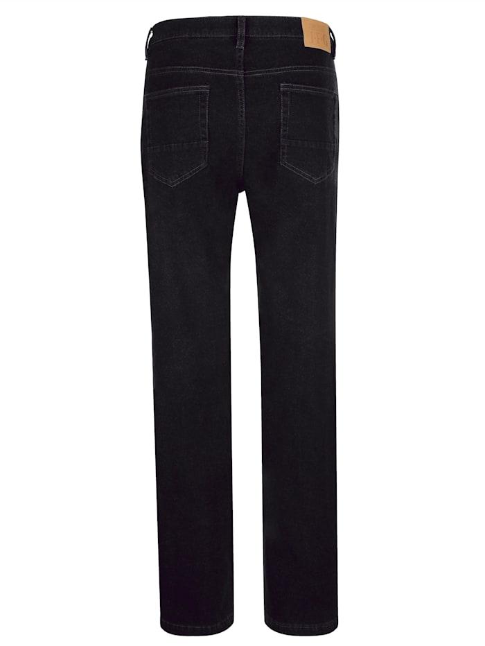 Jean 5 poches d'aspect laine