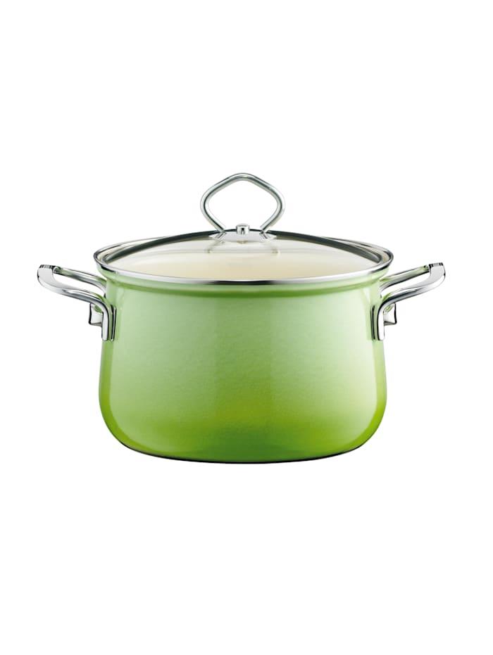 Fleischtopf mit Glasdeckel Smaragd