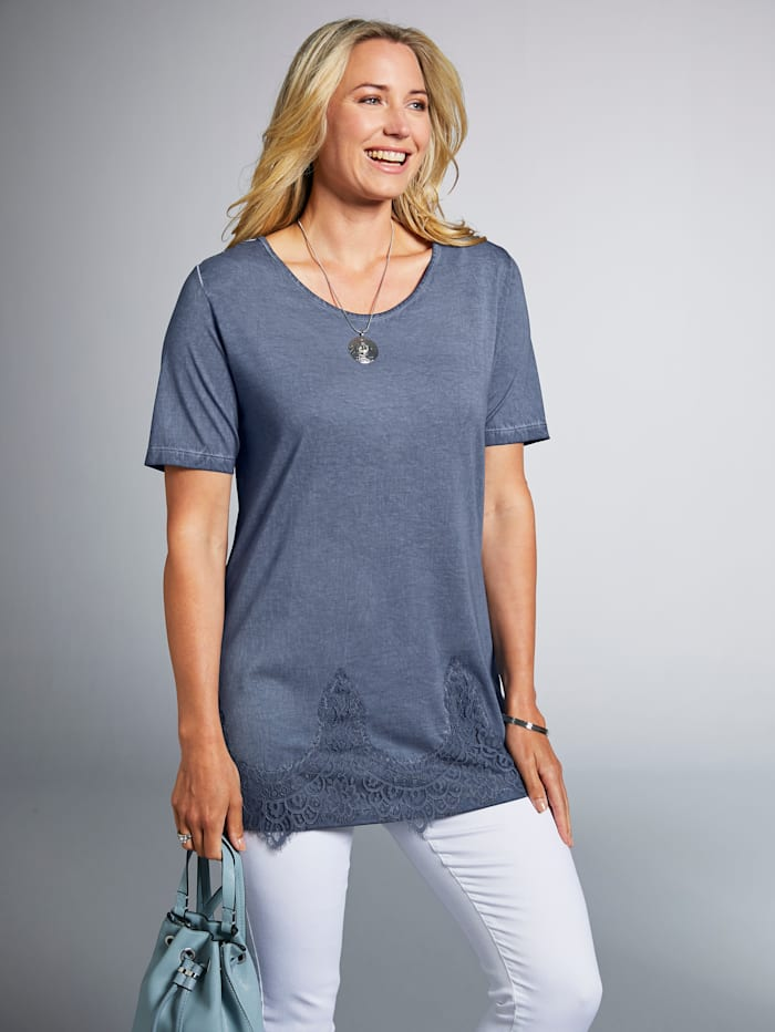 Shirt in angesagter Oil-Wash-Optik