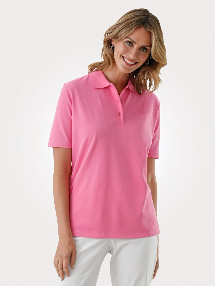 MONA Shirt mit Strasszier, Rosé