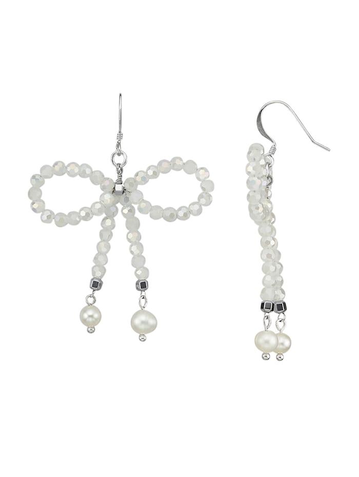 Boucles d'oreilles à perles de verre