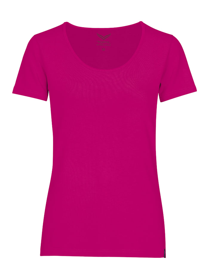 Damen Rundhalsshirt aus Viskose
