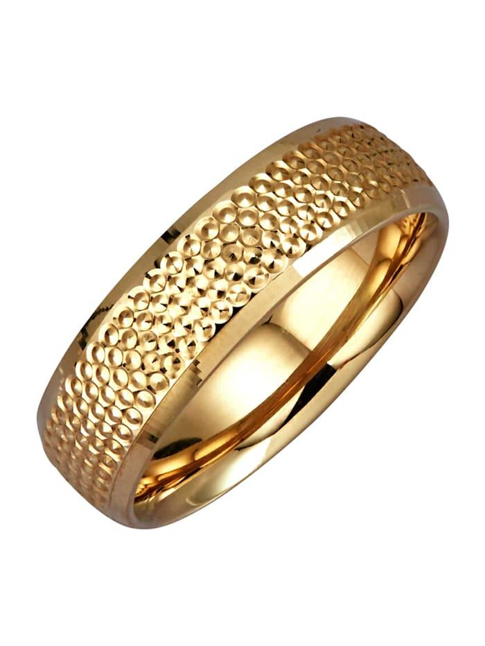 Diemer Highlights Ring i 14 k guld, Guldfärgad