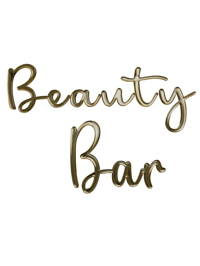 MARAVILLA Décoration murale, Beauty Bar, Coloris doré