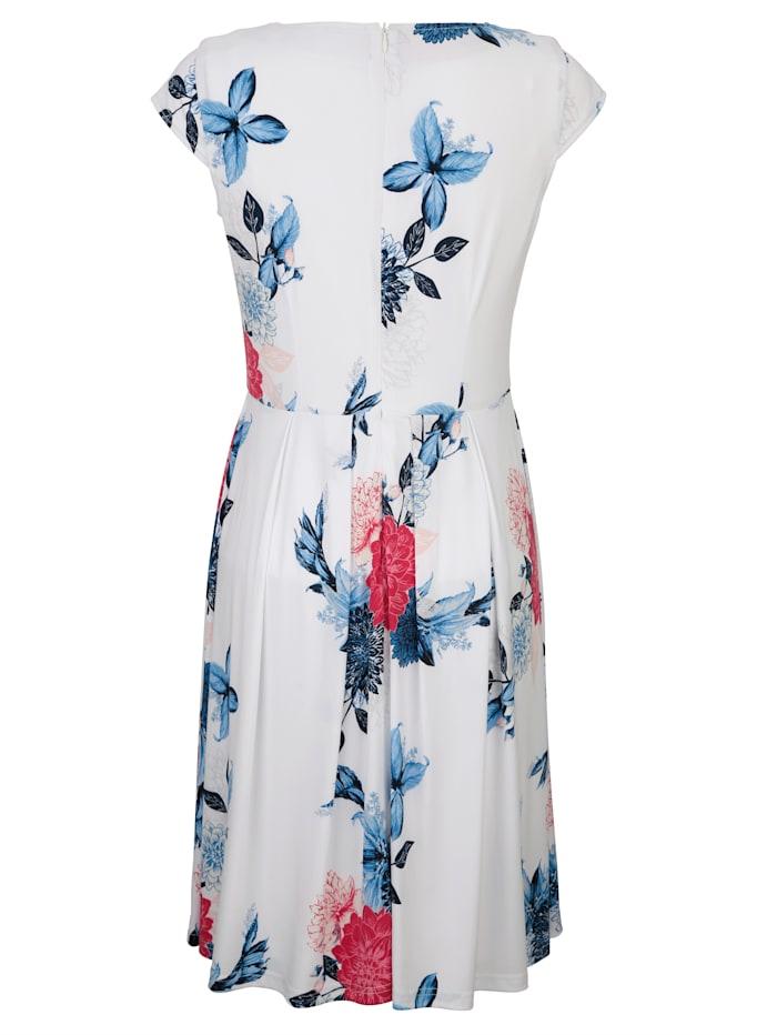 Kleid mit floralem Druck