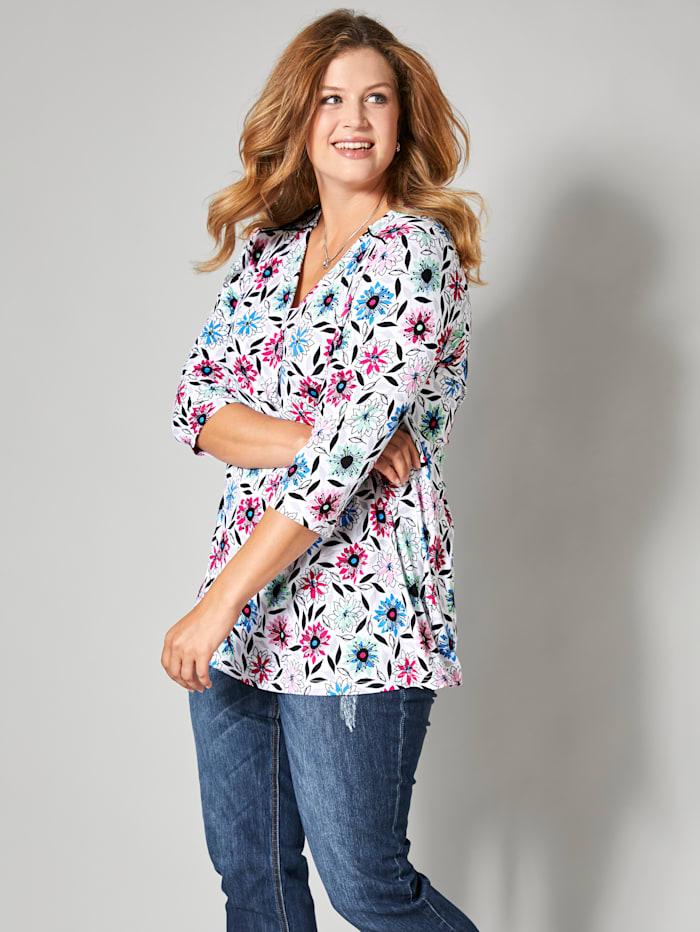 Shirt mit Glanzpaspel