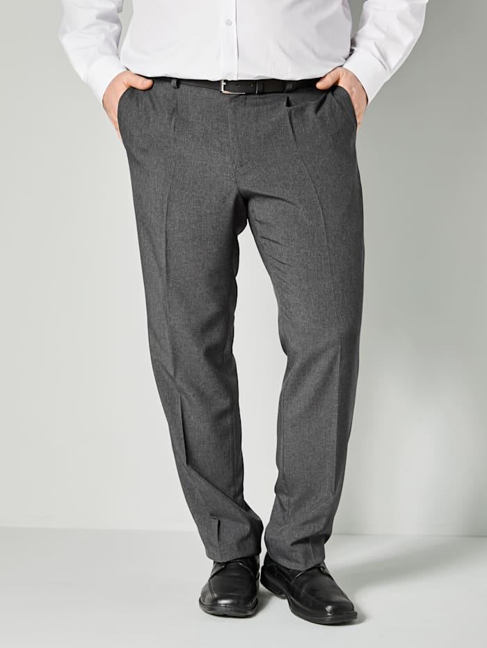 Men Plus Hose Regular Fit, Grau