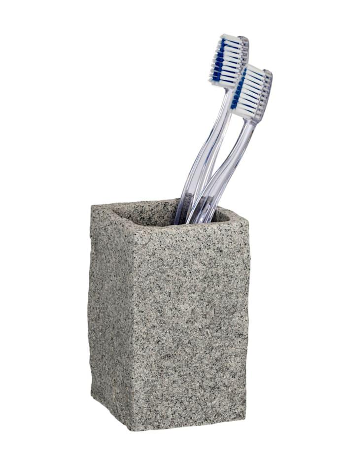 Bad-Accessoire-Set Granit 2-teilig, 2-teilig