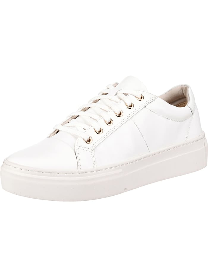 Vagabond Zoe Platform Sneakers Low, weiß