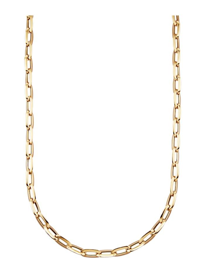 Amara Gold Ankerkette in Gelbgold 585, Gelbgoldfarben