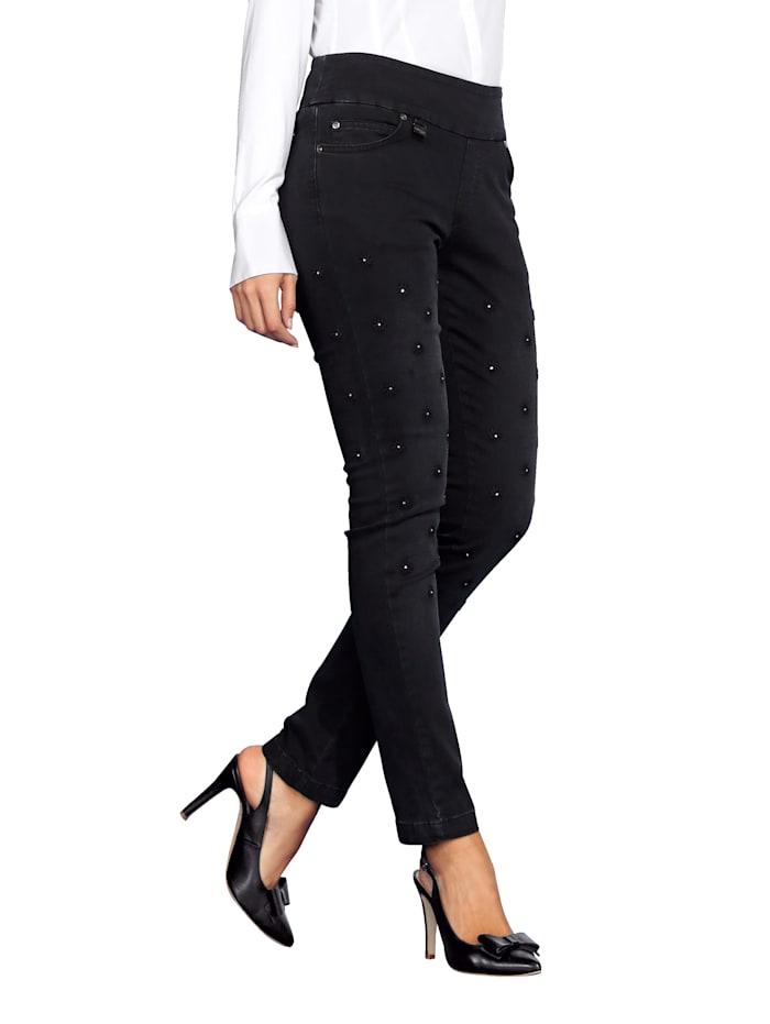 Pantalon à effet modelant