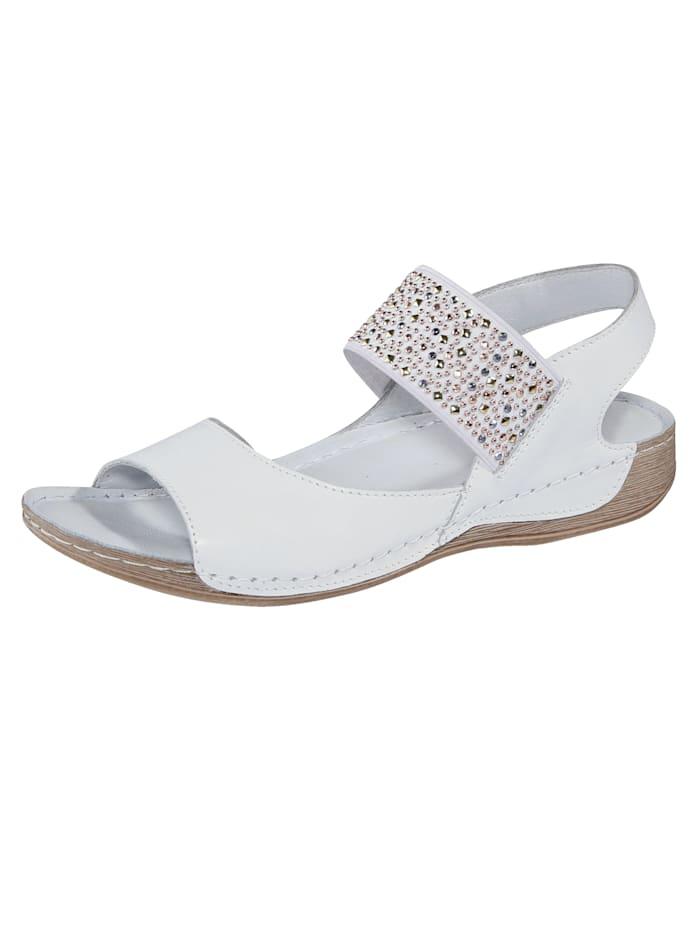 Naturläufer Sandale, Weiß