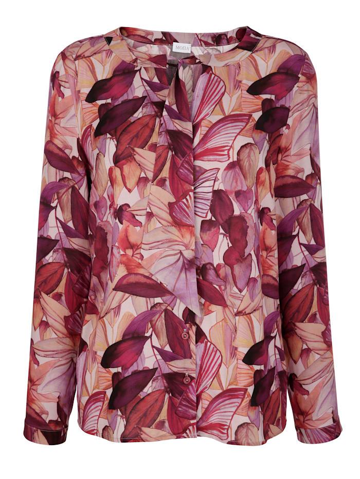 Bluse mit Floraldruck