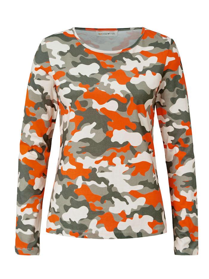 ROCKGEWITTER Langarmshirt, Multicolor