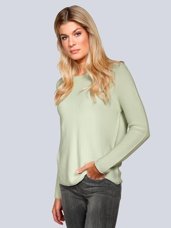 OUI Pullover in leichter Qualität, Mintgrün