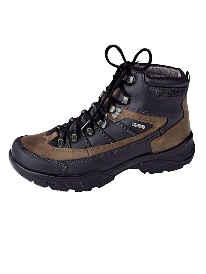 Jomos Trekking-Stiefel mit Sympatex-Ausstattung, Schwarz/Braun