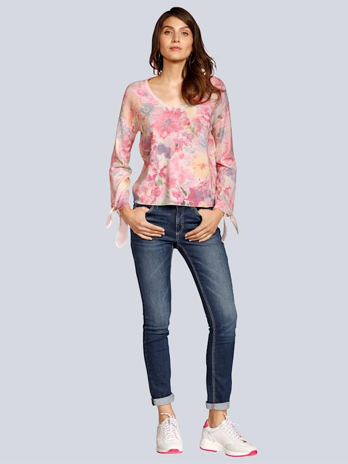 Jeans in Röhrenform