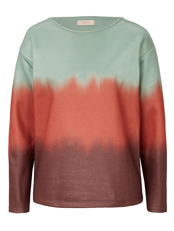 REKEN MAAR Sweatshirt mit Farbverlauf, Multicolor